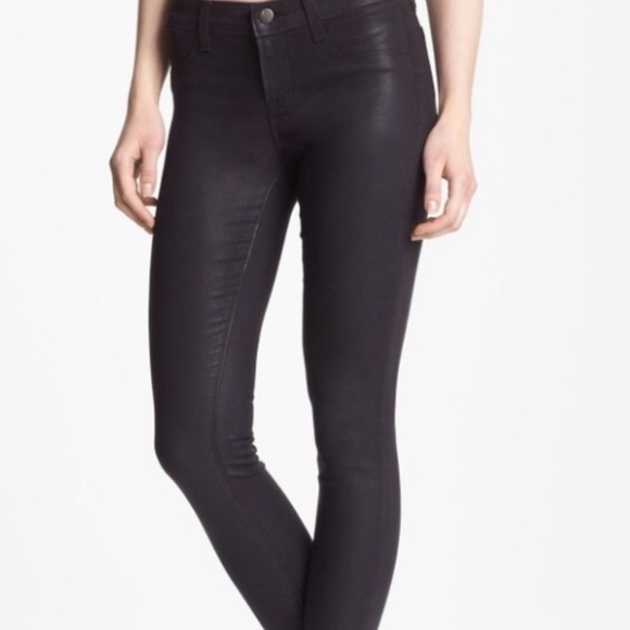 J Brand Denim - J Brand Super Skinny Jeans Coat Opali